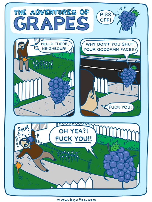 Adventures of Grapes 001
