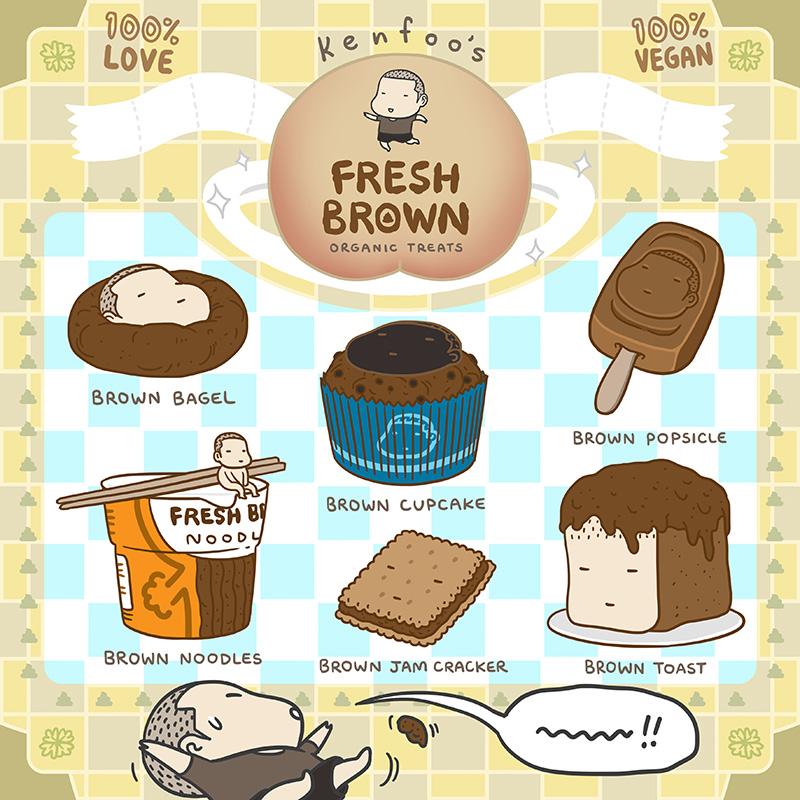 Fresh Brown 003
